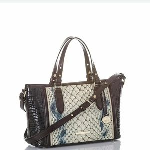 Brahmin Bags - New BRAHMIN Mini Asher GLACIER CARLISLE COLLECTION